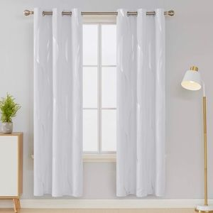 Blackout Grommet Window Curtain Panels 42 x 72 In